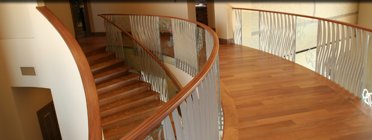 tradeMARK Studio custom stairs